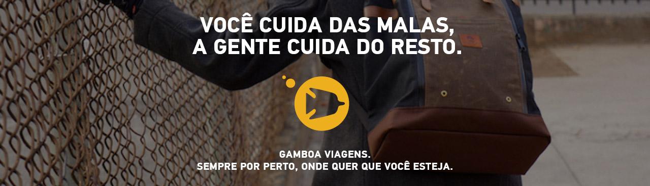 Gamboa Viagens - Home